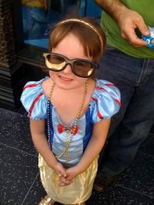 MckEnna Snow White glasses