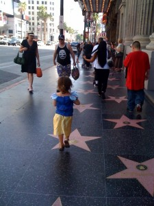 Snow white Hollywood Blvd