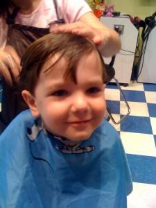 Hudson Haircut 3yr 2