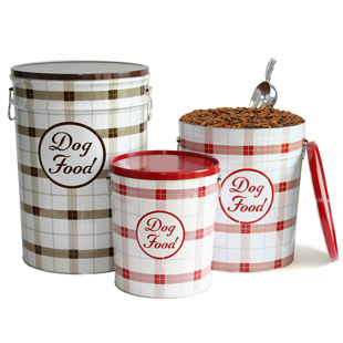 Harry Barker Dog Food Containers