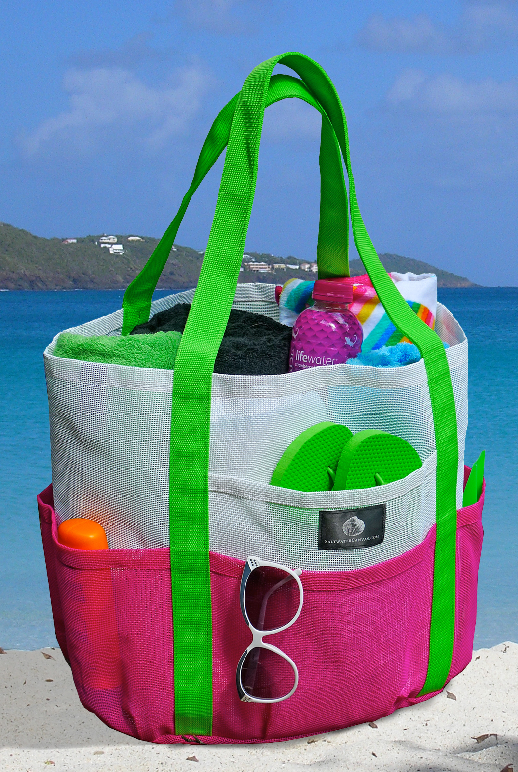 Behold, the Ultimate Beach Bag