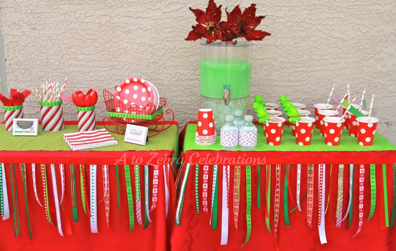 christmas party decorations and ideas training4greencom - Childrens Christmas Party Decoration Ideas