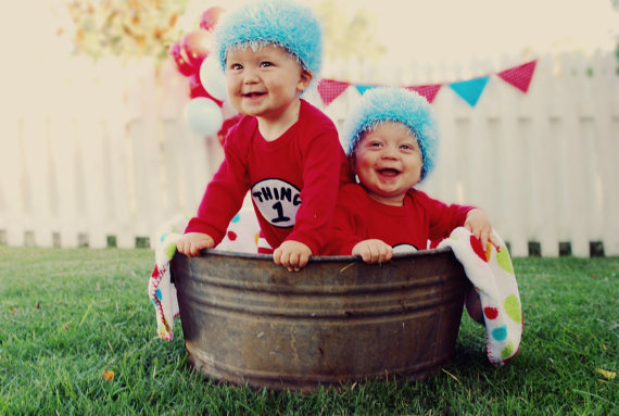 Thing 1 and Thing 2 Costume –  44.00 Mudpies   Dragonflies 2d0752da4