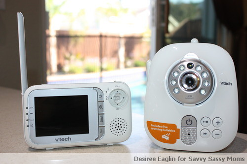 VTech, Baby Monitor, Video Monitor, Baby Safety, Nursery, VTech Safe & Sound Full Color Video and Audio Monitor