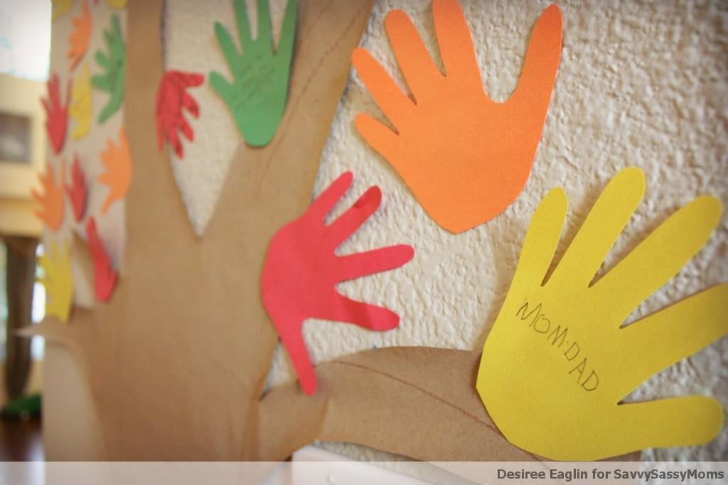 thanksgiving crafts, crafts, kids crafts, desiree eaglin, thankful