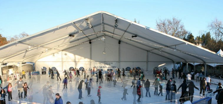 Downtown WC Ice Skating