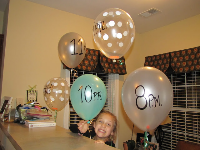 balloon countdown