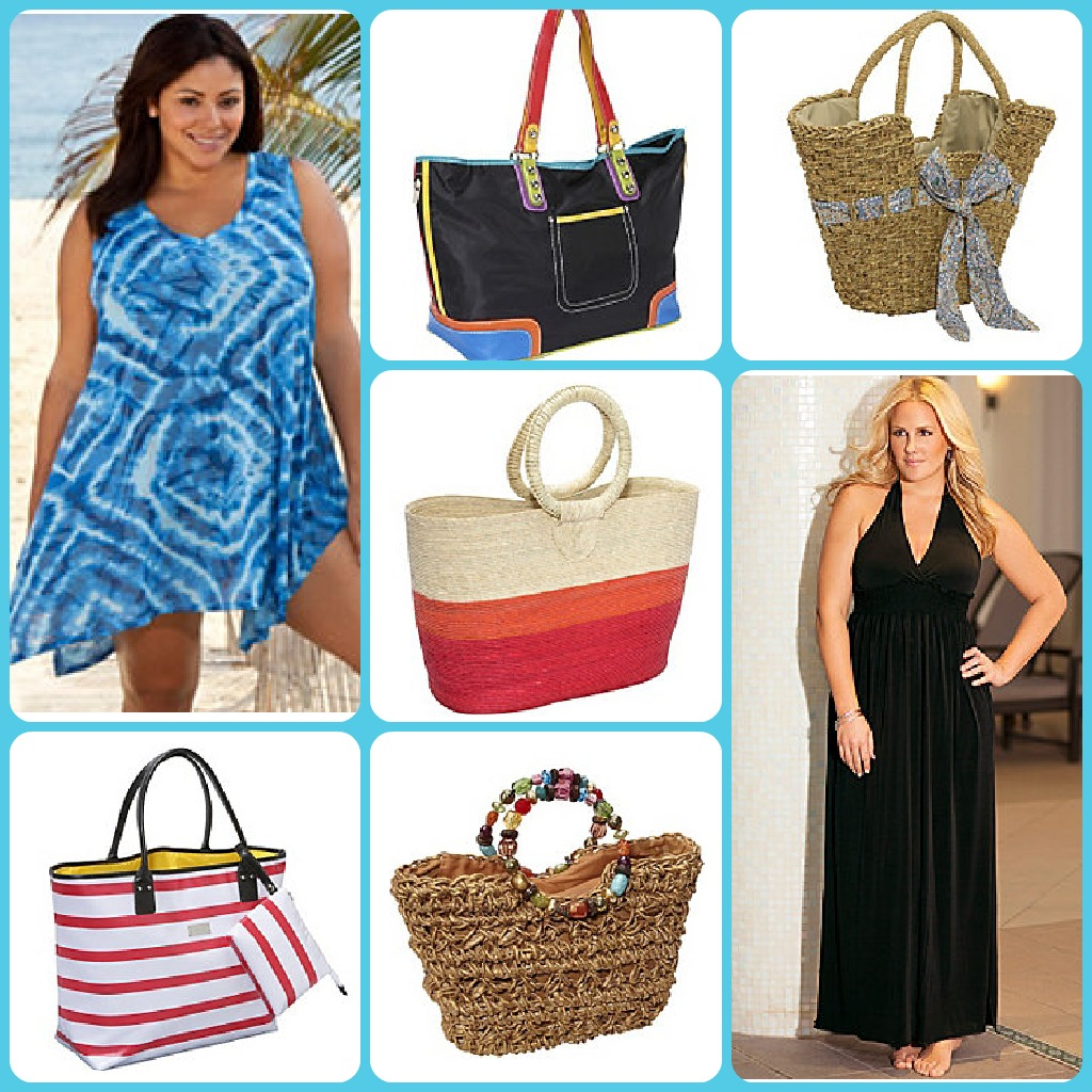 bag & cover up collage