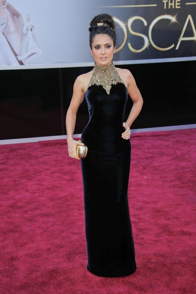85th Annual Academy Awards - Salma Hayek