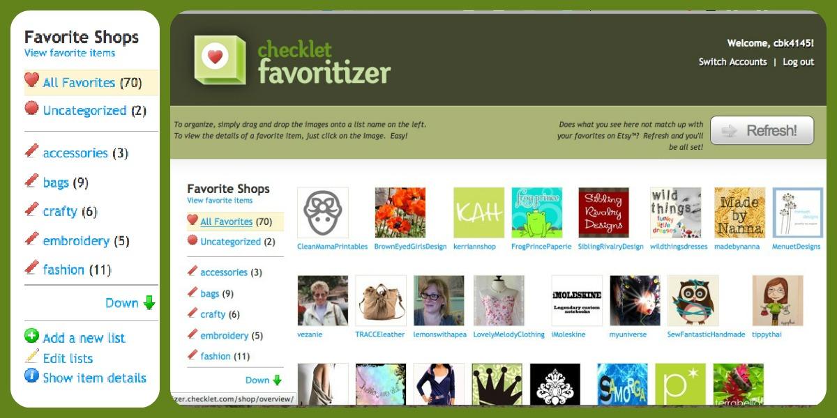 favorite shops Collage