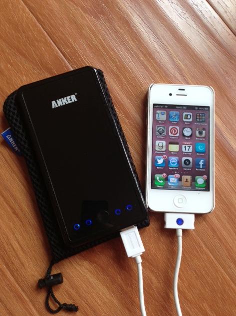 Anker External battery