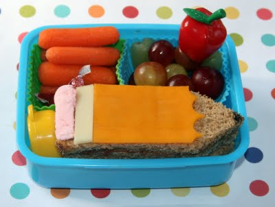 First Day of School Bento
