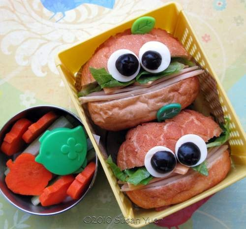 Happy Sandwiches Bento