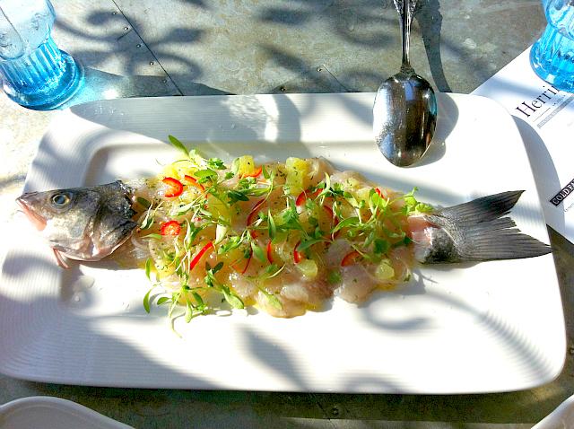 Herringbone Whole Fish Ceviche