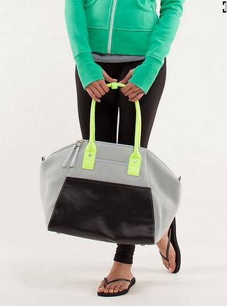 Lulumon Athletic bag