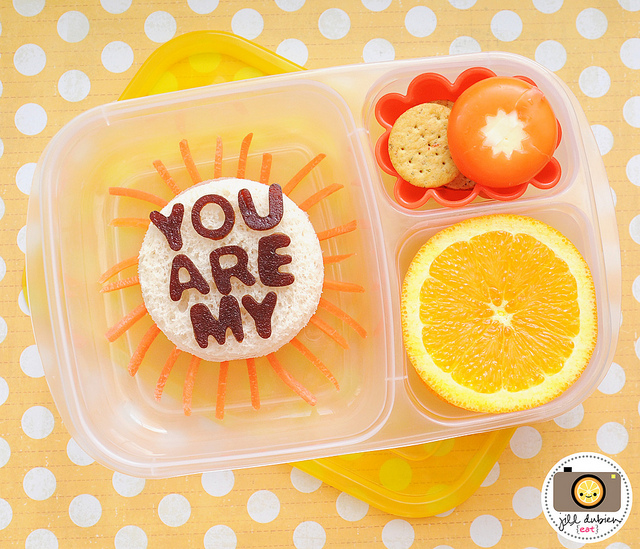 You Are My Sunshine Bento