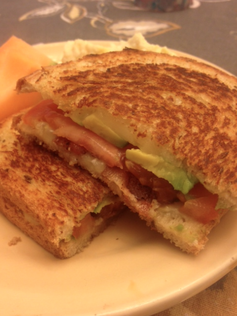 Club Grilled Cheese