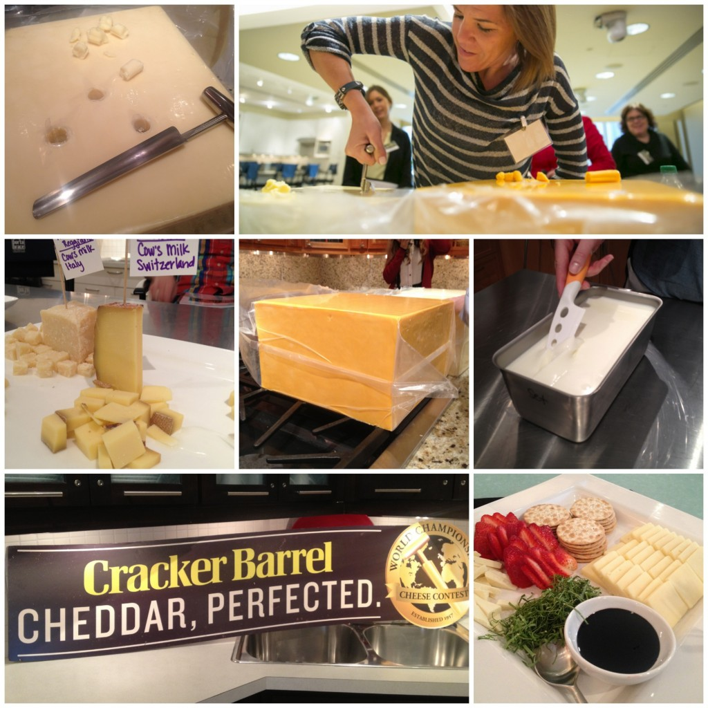 Cracker Barrel Cheese collage 1