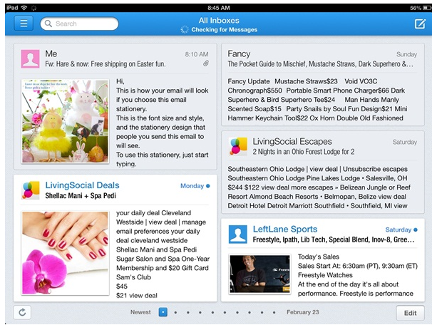 Incredimail App for ipad