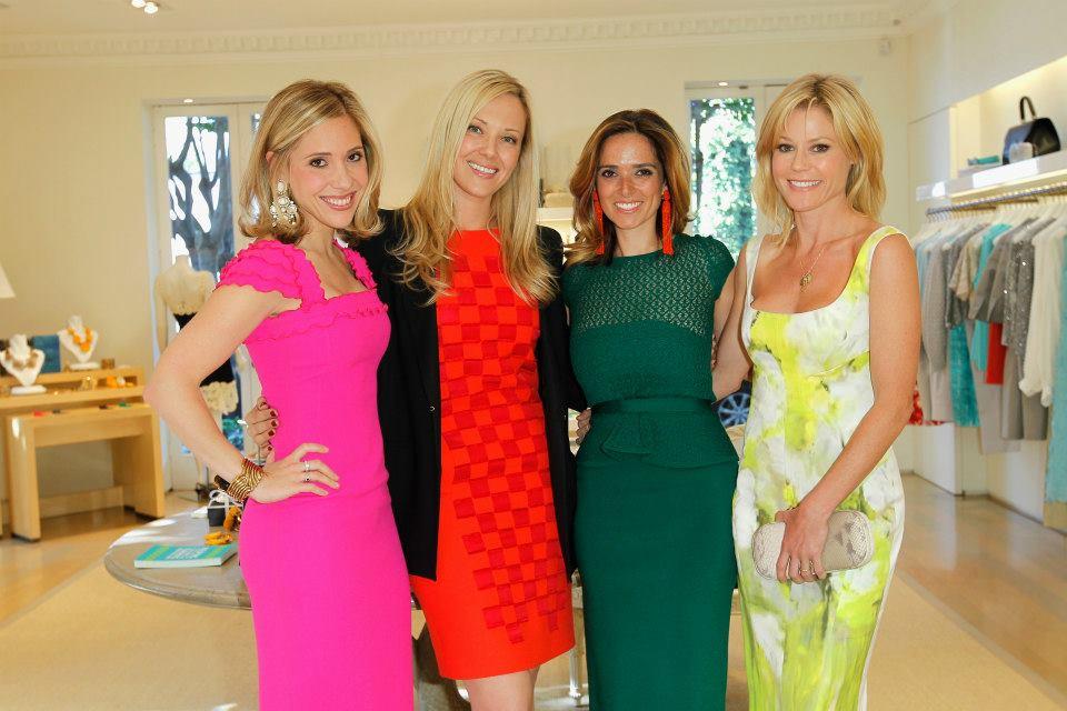 Marissa Kraxberger, Host Tara Swennen, Host Kelly Florio Kasouf and Julie Bowen