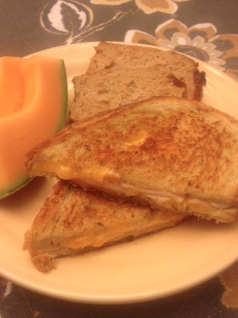 Turkey Melt Grilled Cheese