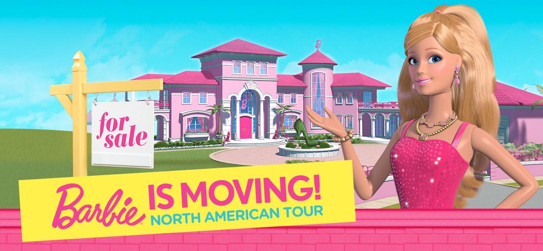 Barbie is Moving June 1 Los Angeles