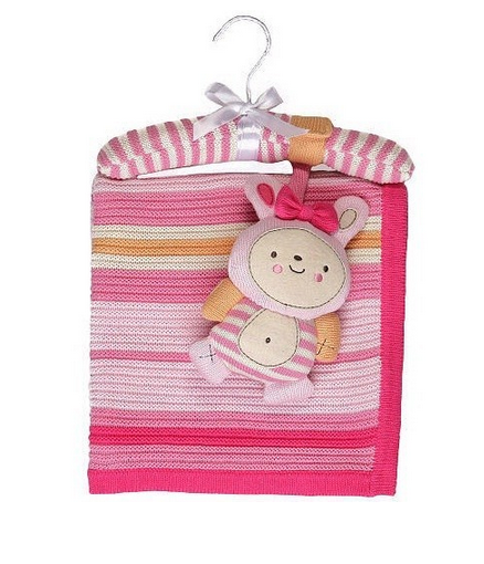 Lolli Living Knit Blanket & Rattle