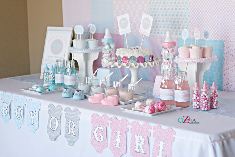Baby Shower Gender Reveal Party Ideas Savvy Sassy Moms