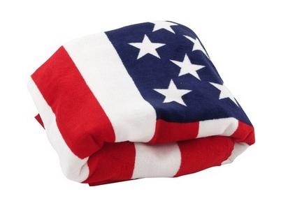 American Flag Beach Towels