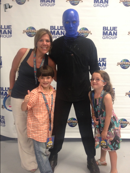 Blue Man Group Universal Studios Savvy Sassy Moms