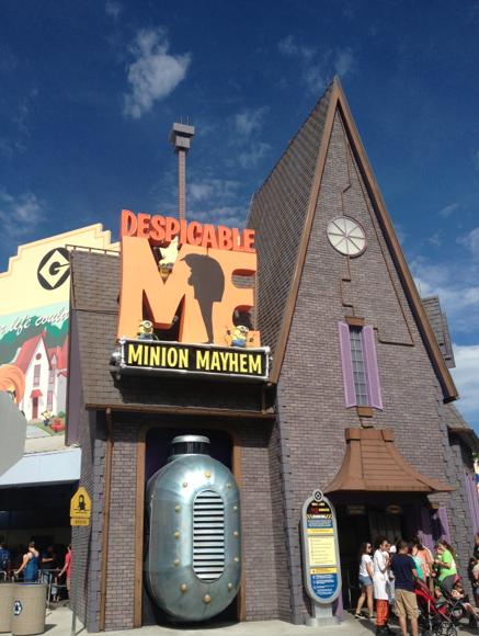 Despicable Me Ride Universal Studios