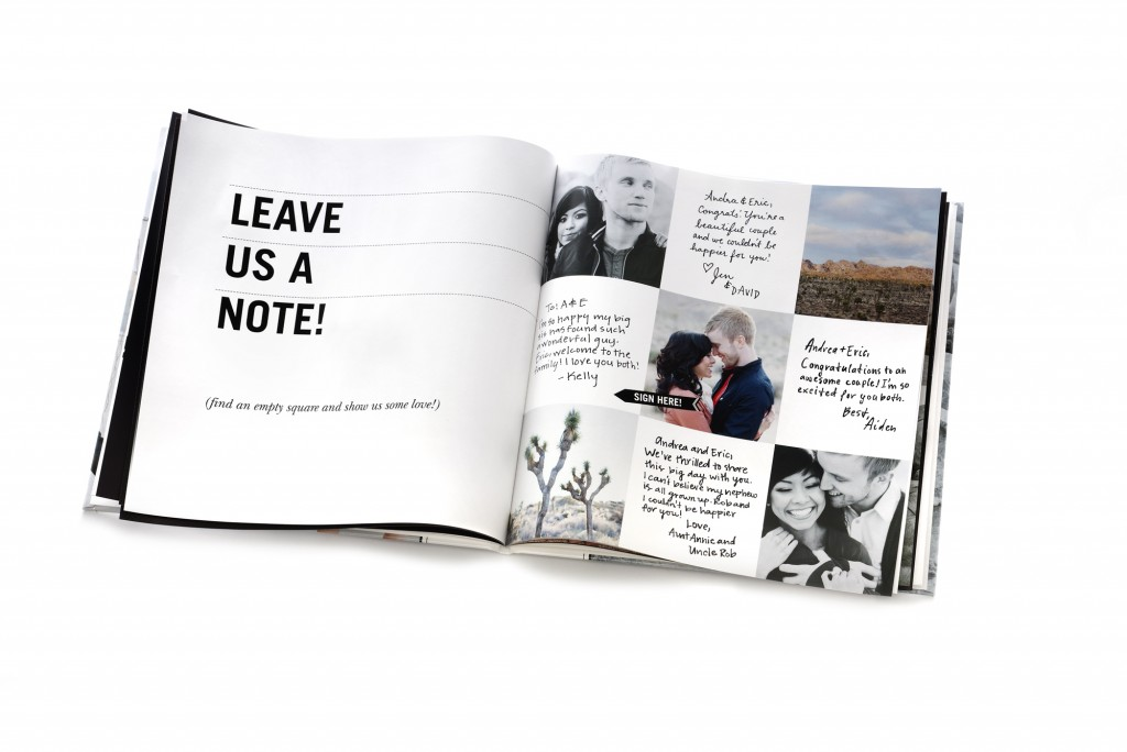 Guestbook - 1 -Credit Shutterfly