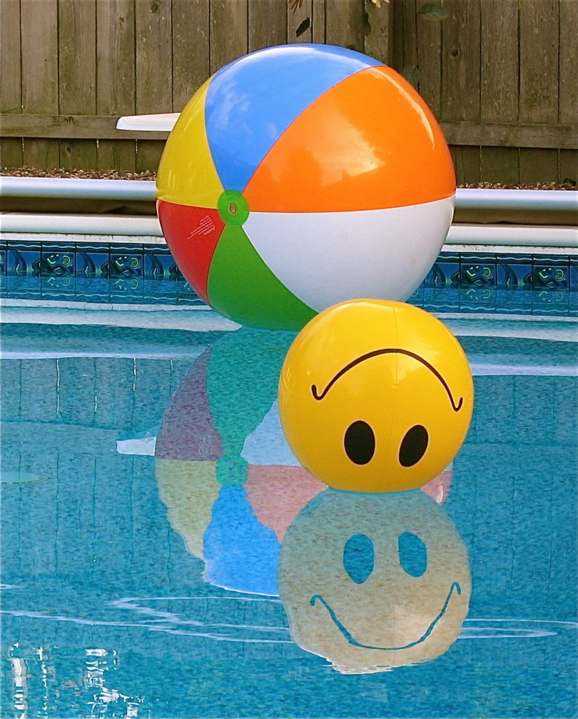 Never leave pool toys out, they could tempt a toddler in and that could be fatal