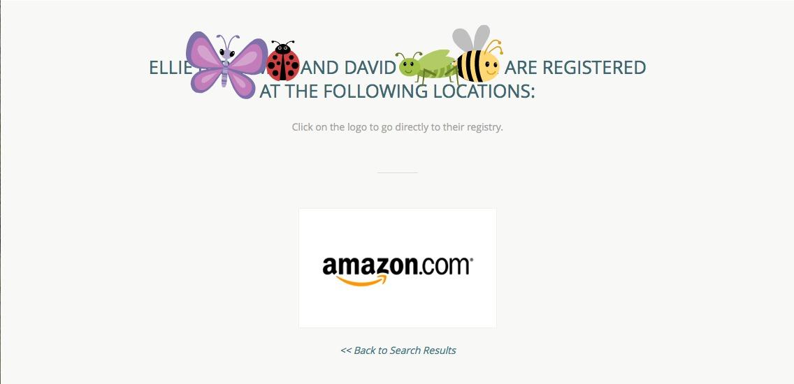 RegistryFinder search results