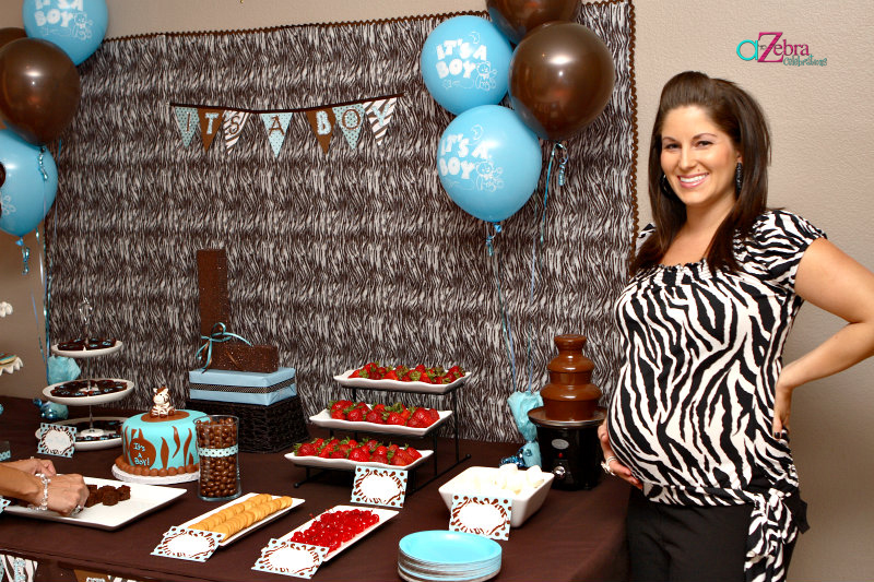 Its A Boy Zebra Themed Baby Shower Savvy Sassy Moms