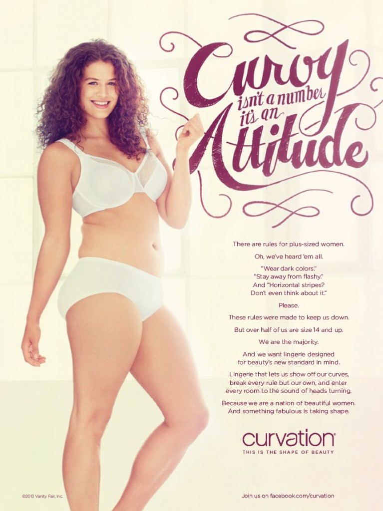 Curvation full figure bras