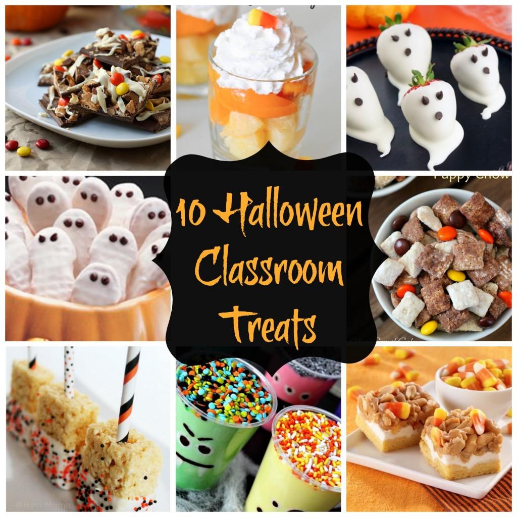 Halloween treats for the classroom