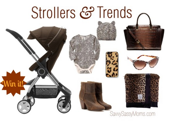 Strollers and Trends Stokke Scoot Wild Mama