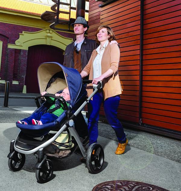 Mountain Buggy Cosmopolitan reversing seat convertible stroller