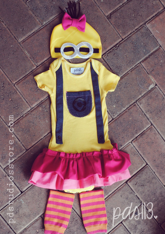 Despicable Me Girl Minion Costume