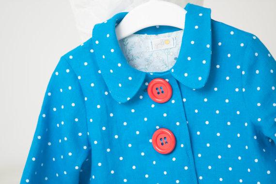 Eco-friendly linen coat