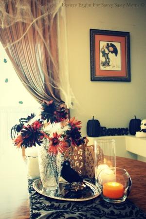Halloween Centerpiece from Dollar Tree 2