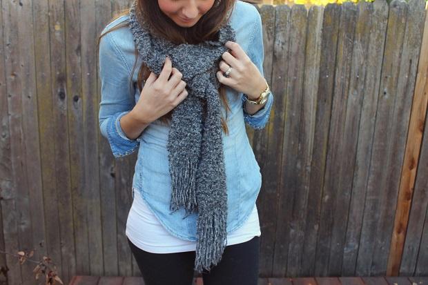 wraparound scarf