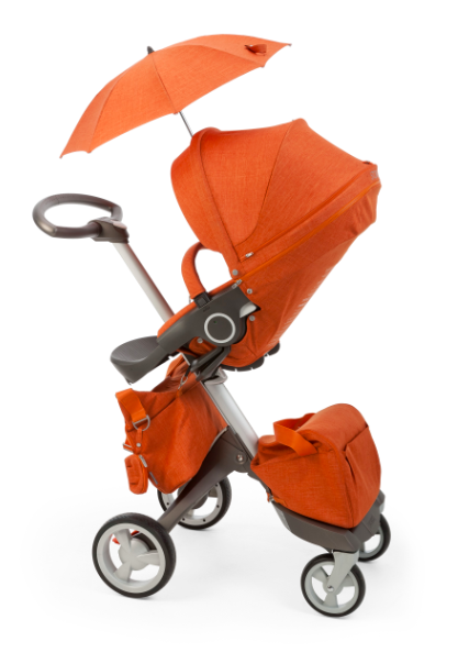 Stokke Xplory Stroller Orange Melange