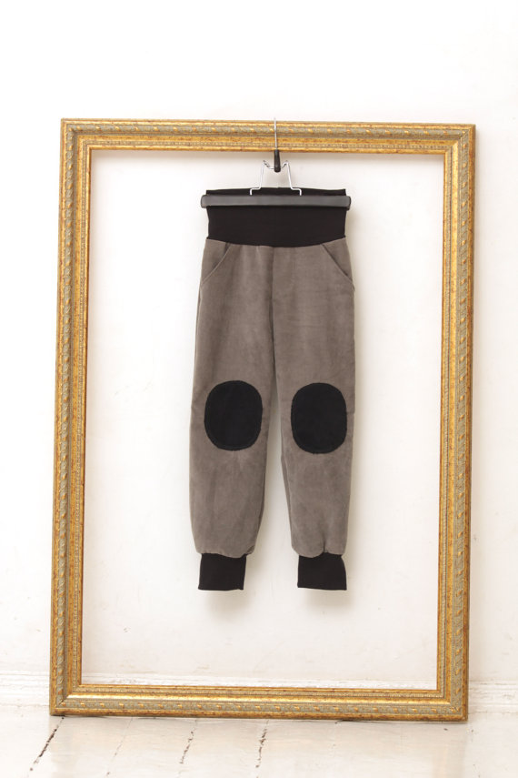 boys pants with knee patch