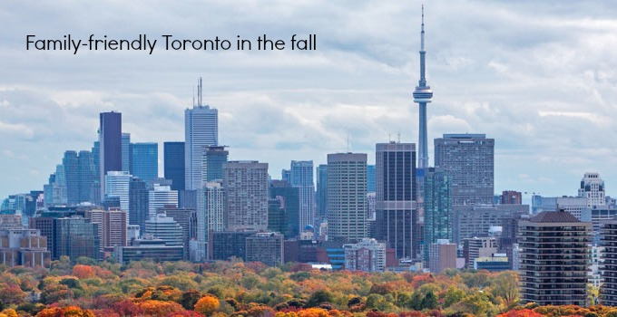 family friendly toronto in the fall