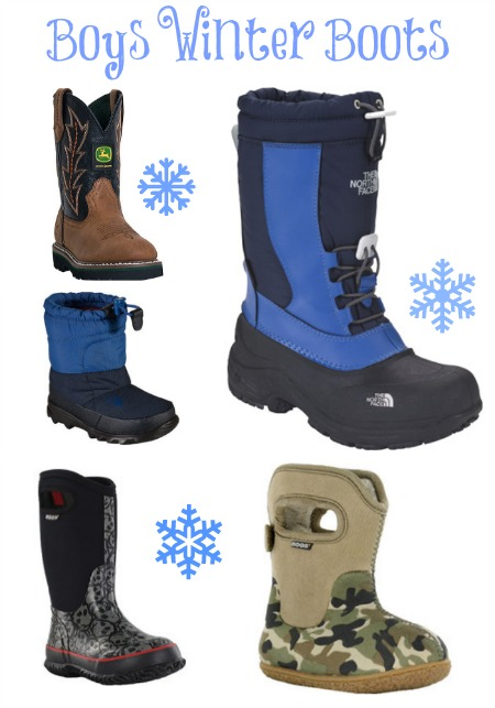 winter boots and gear for kids