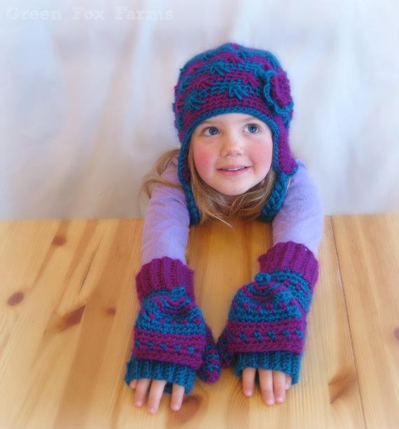 Convertible Wool Blend Mittens