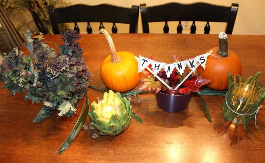 Dollar Tree Thanksgiving Centerpiece 2