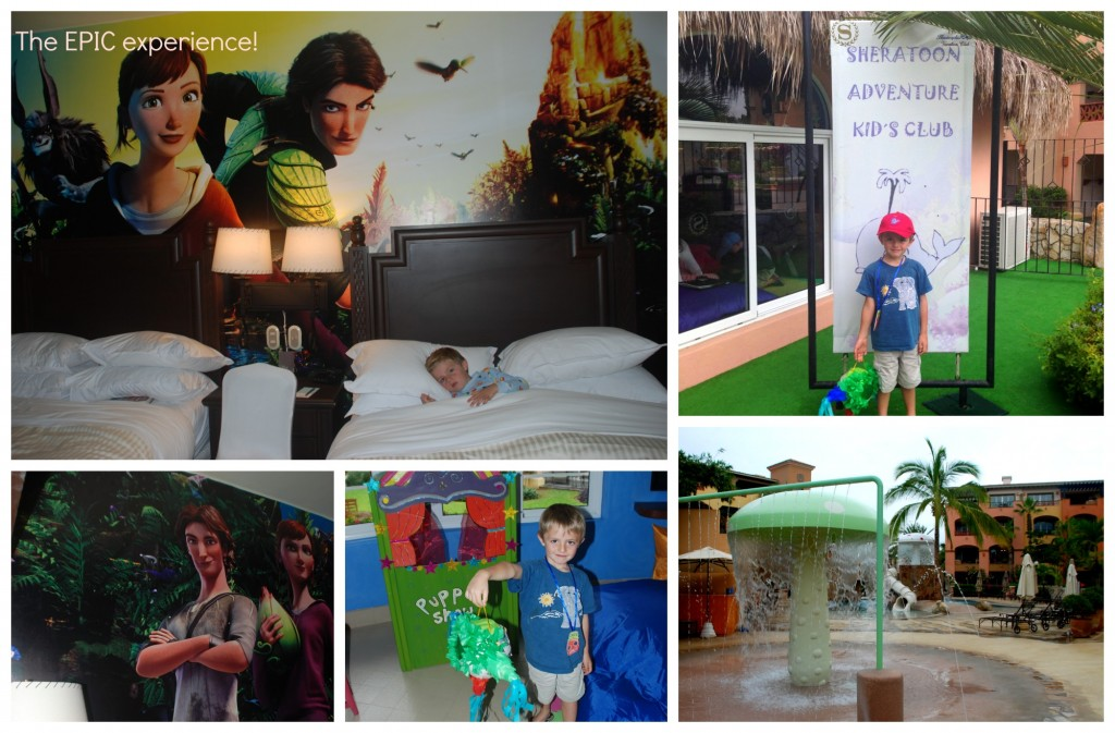 kids club at hacienda del mar